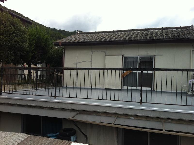 屋根防水工事、完了@甲府_c0131878_1502061.jpg