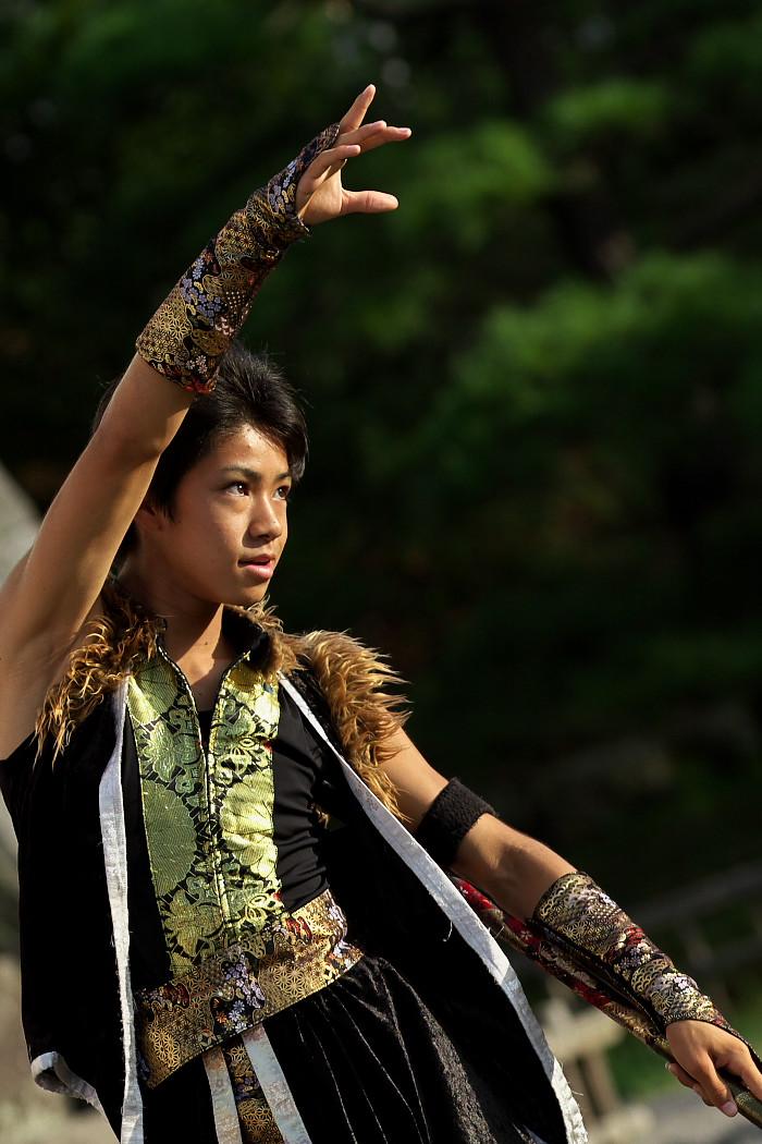 よさこい炎舞連神陽~Sin~@第10回静岡おだっくい祭り_c0187584_1457574.jpg