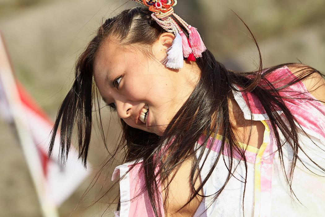 よさこい炎舞連神陽~Sin~@第10回静岡おだっくい祭り_c0187584_1501795.jpg