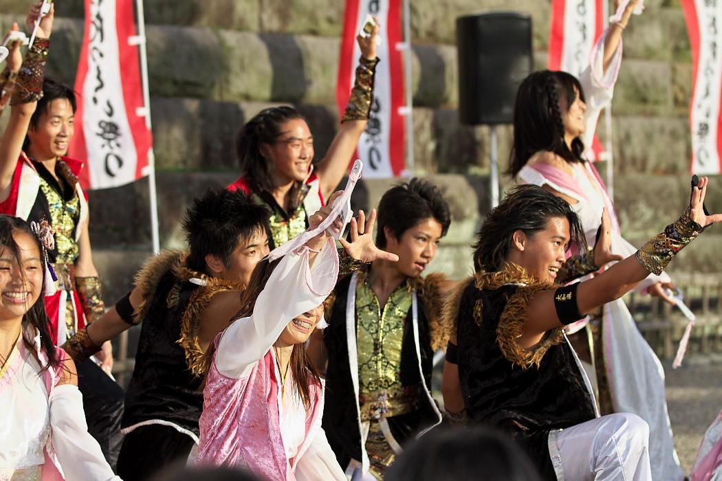 よさこい炎舞連神陽~Sin~@第10回静岡おだっくい祭り_c0187584_1512880.jpg