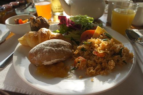 バリ島 (ホテル 朝食)_f0215714_17332428.jpg