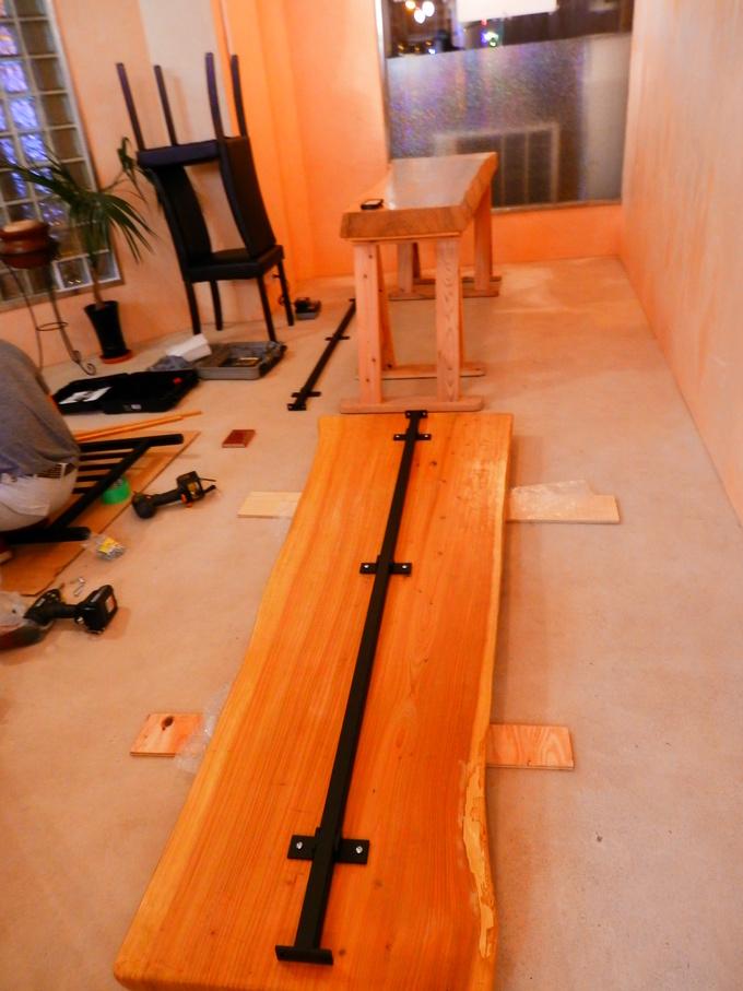 「立て看板」と「テーブルのアイアン」☆_a0125419_158660.jpg
