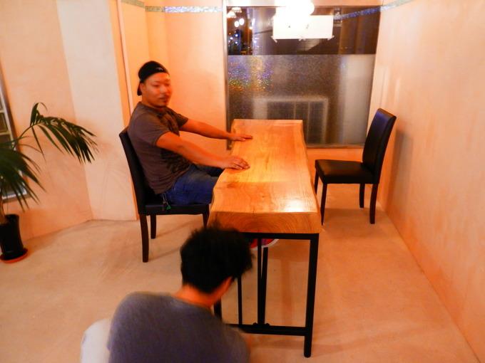 「立て看板」と「テーブルのアイアン」☆_a0125419_20273.jpg