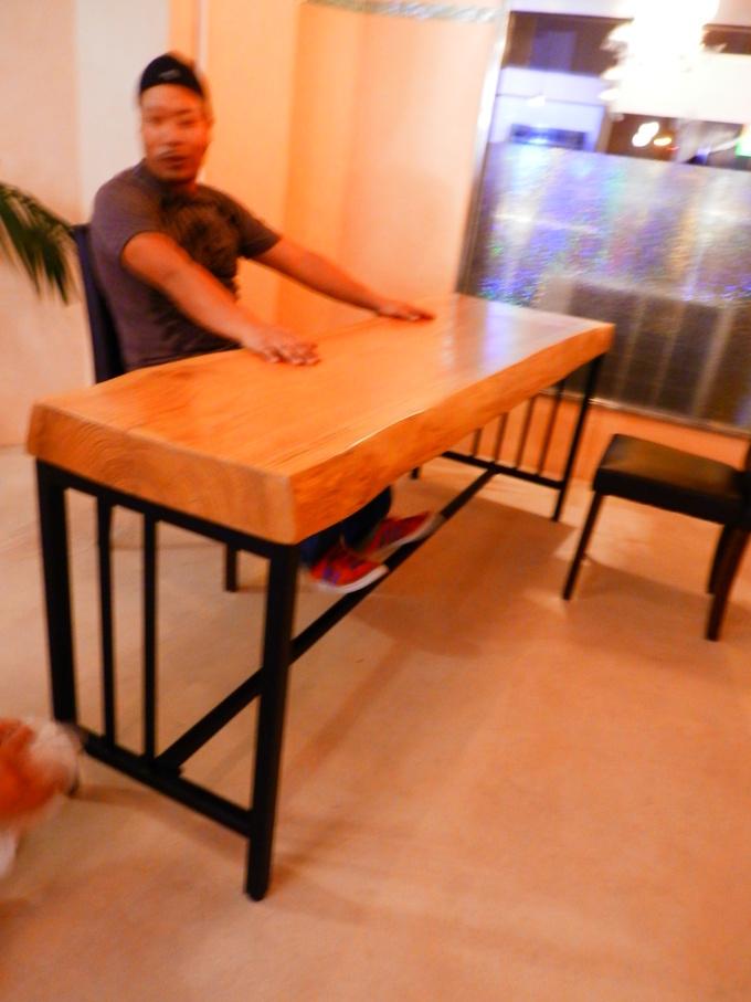 「立て看板」と「テーブルのアイアン」☆_a0125419_21191.jpg