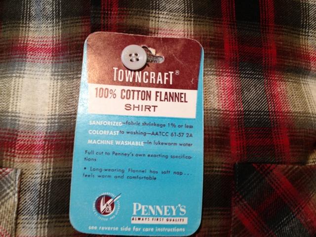 9月29日(土)入荷商品!追加分#16 デッドストック タウンクラフト オンブレーシャツ!_c0144020_181852100.jpg