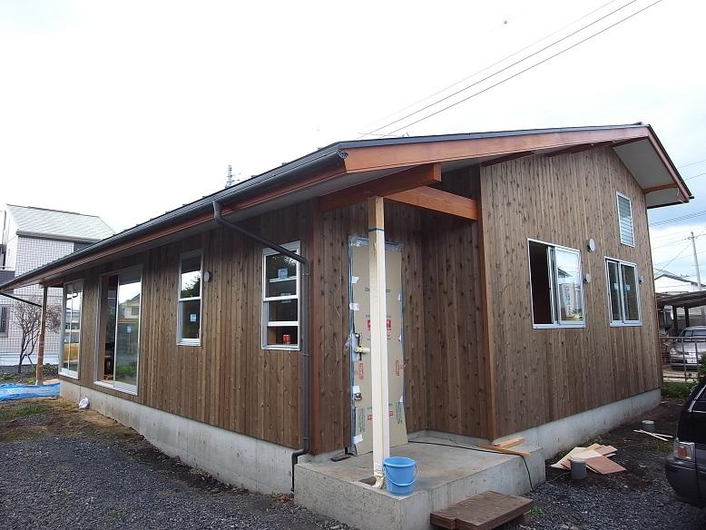 東富の家 足場撤去 2012/9/27_a0039934_17382254.jpg