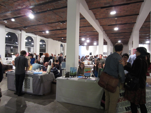 "THE NY ART BOOK FAIR_report2 ""Pepper\'s Gallery Booth\""_c0096440_19304546.jpg"