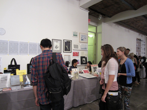 "THE NY ART BOOK FAIR_report2 ""Pepper\'s Gallery Booth\""_c0096440_19333086.jpg"