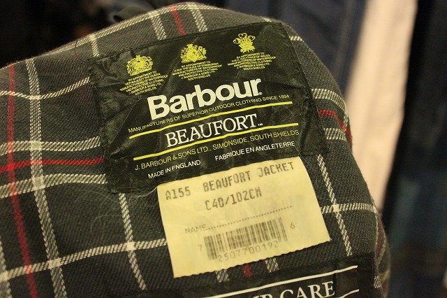 "Barbour  ""BEAUFORD"" _d0121303_16531859.jpg"