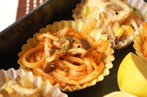 和風きのこ入りポテトサラダと運動会のお弁当アイデア♡_d0104926_4521266.jpg