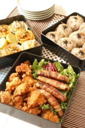 和風きのこ入りポテトサラダと運動会のお弁当アイデア♡_d0104926_5143531.jpg