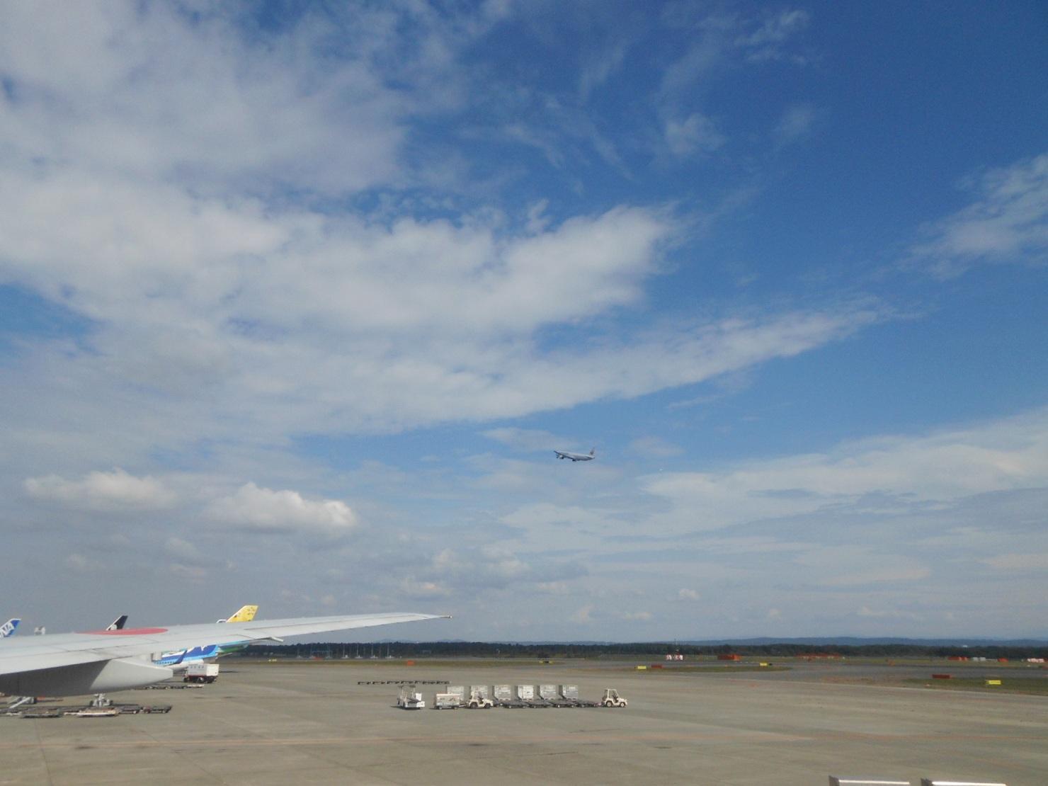1823) ①「金沢3泊4日旅行 『飛行機からの眺め』」_f0126829_650253.jpg