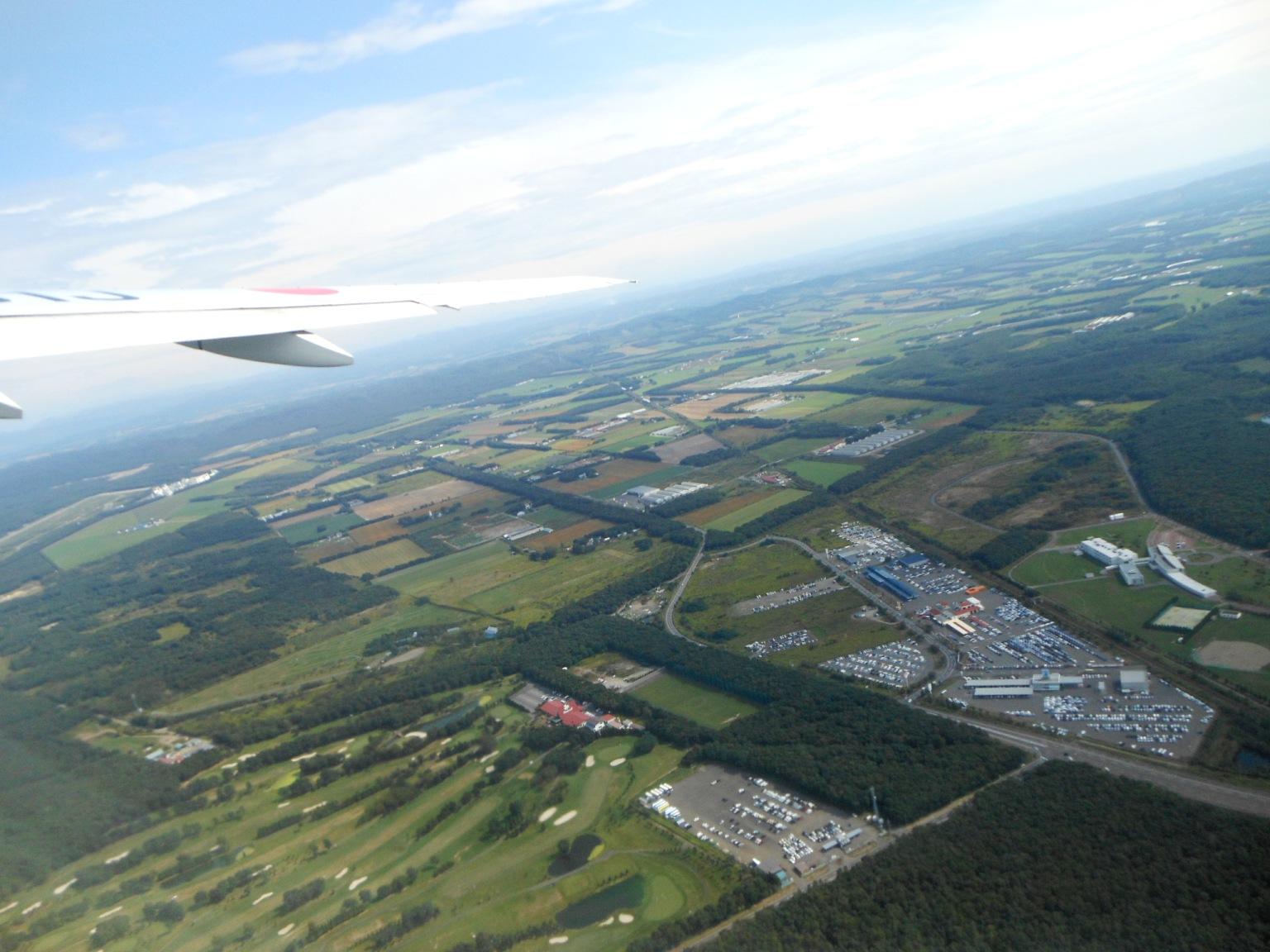 1823) ①「金沢3泊4日旅行 『飛行機からの眺め』」_f0126829_6555066.jpg