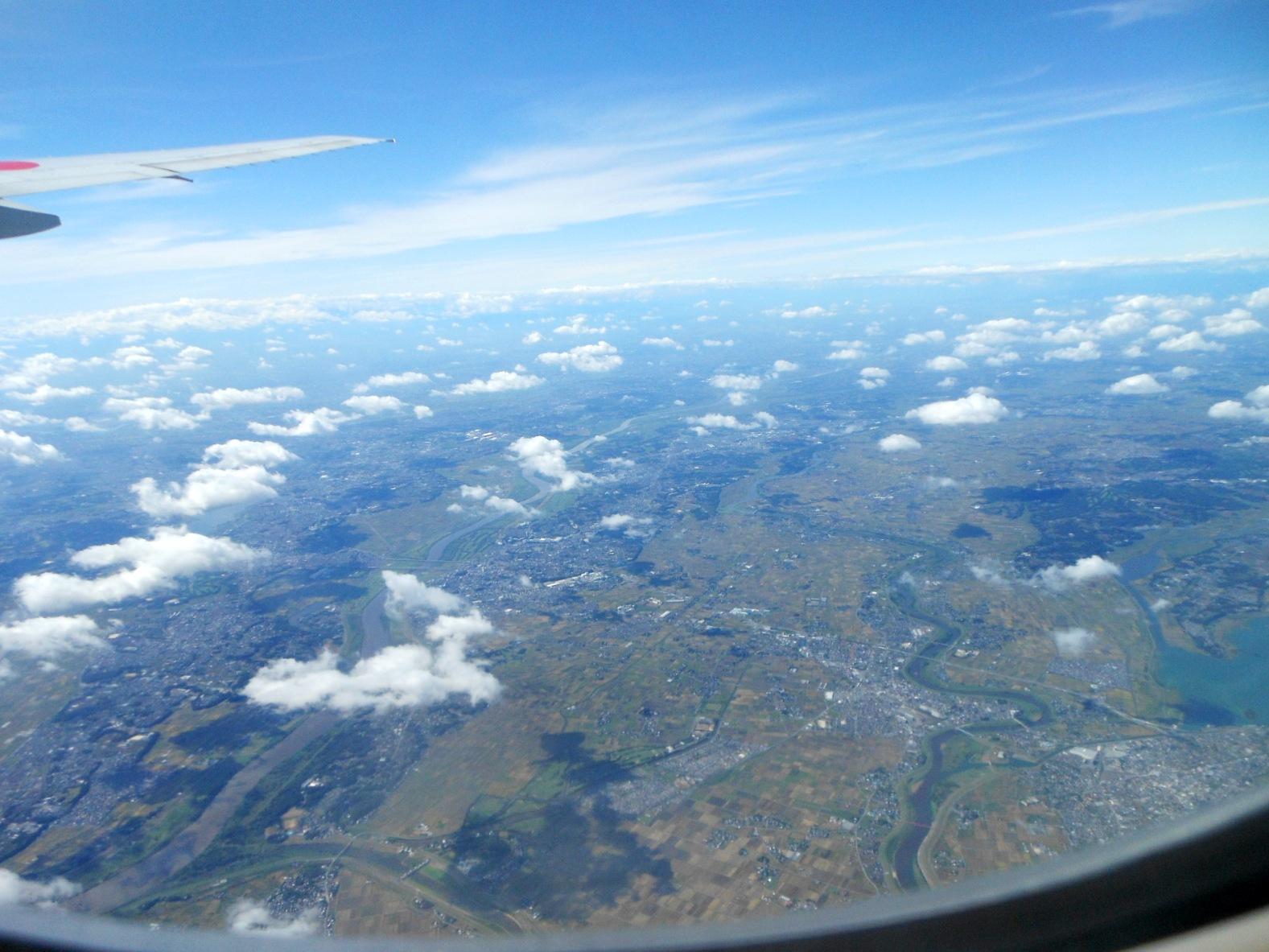 1823) ①「金沢3泊4日旅行 『飛行機からの眺め』」_f0126829_7152881.jpg