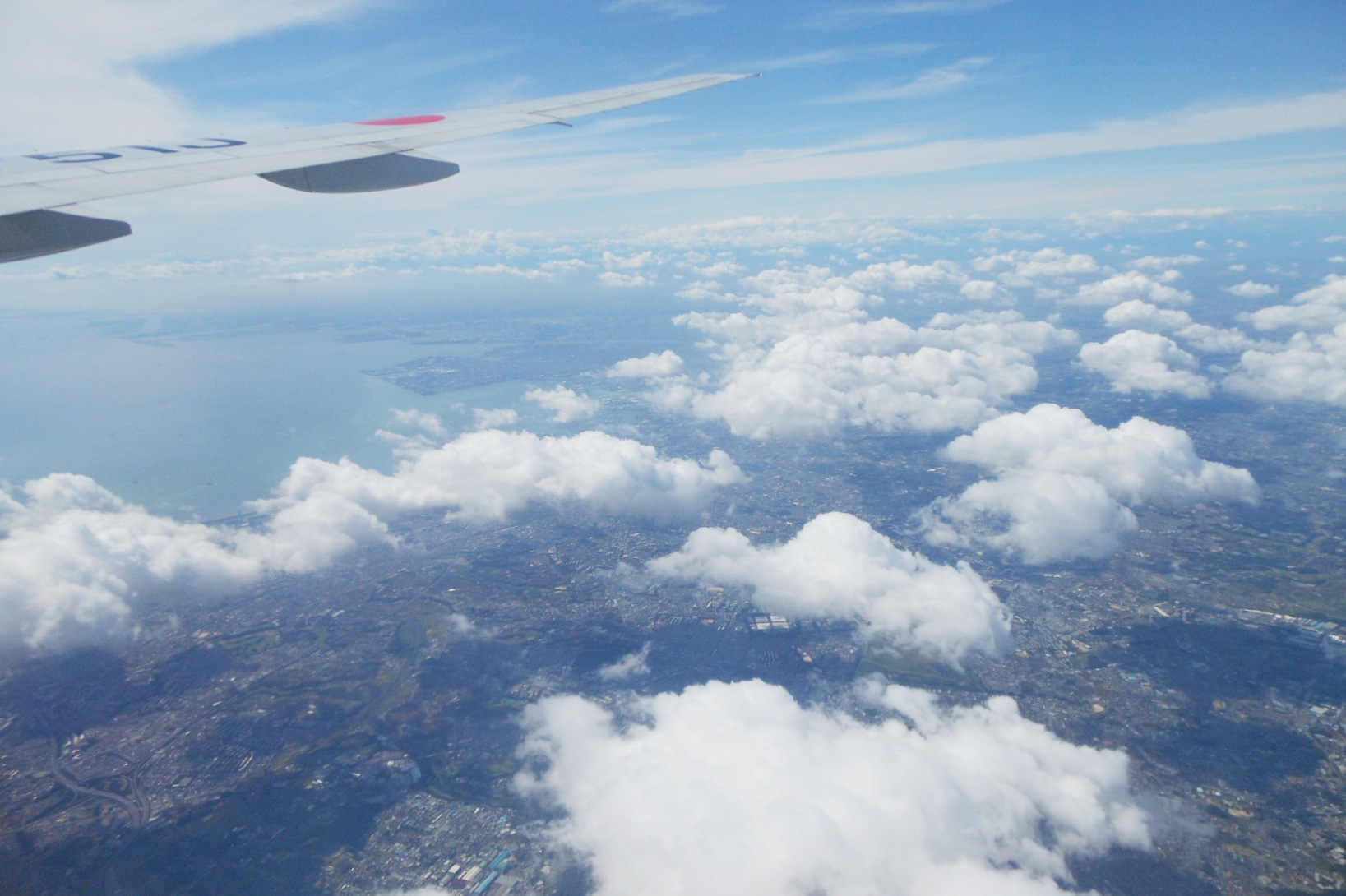 1823) ①「金沢3泊4日旅行 『飛行機からの眺め』」_f0126829_71933.jpg