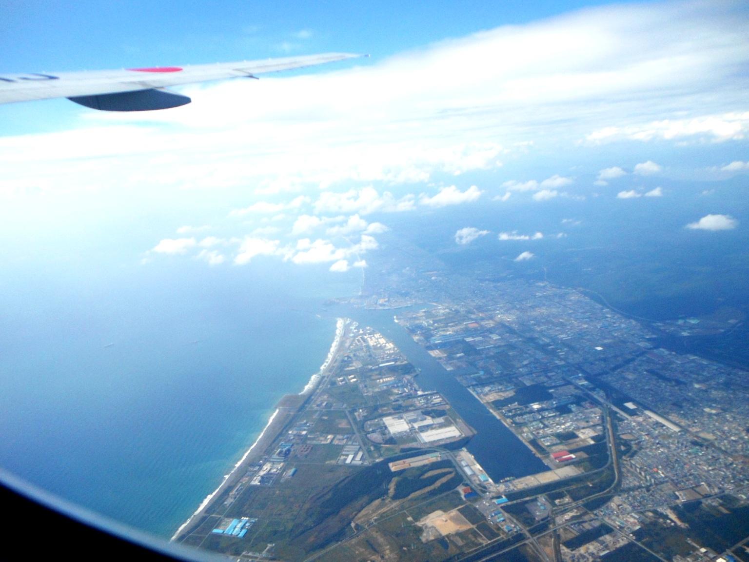1823) ①「金沢3泊4日旅行 『飛行機からの眺め』」_f0126829_723073.jpg