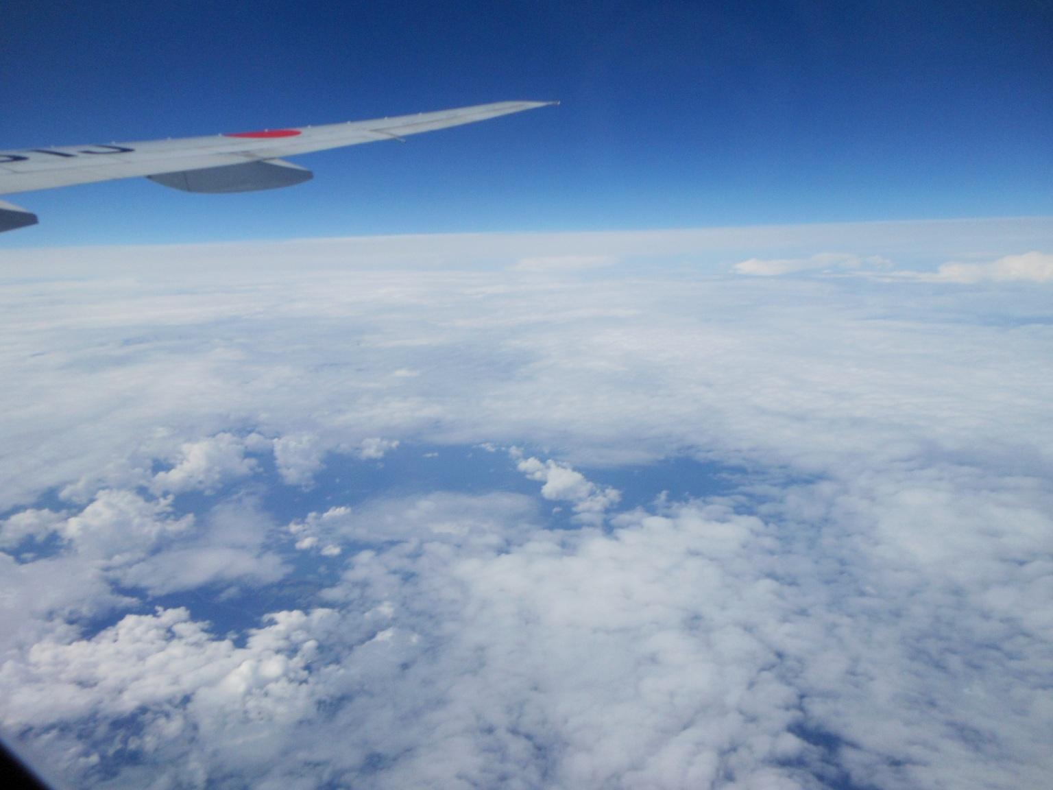 1823) ①「金沢3泊4日旅行 『飛行機からの眺め』」_f0126829_755977.jpg