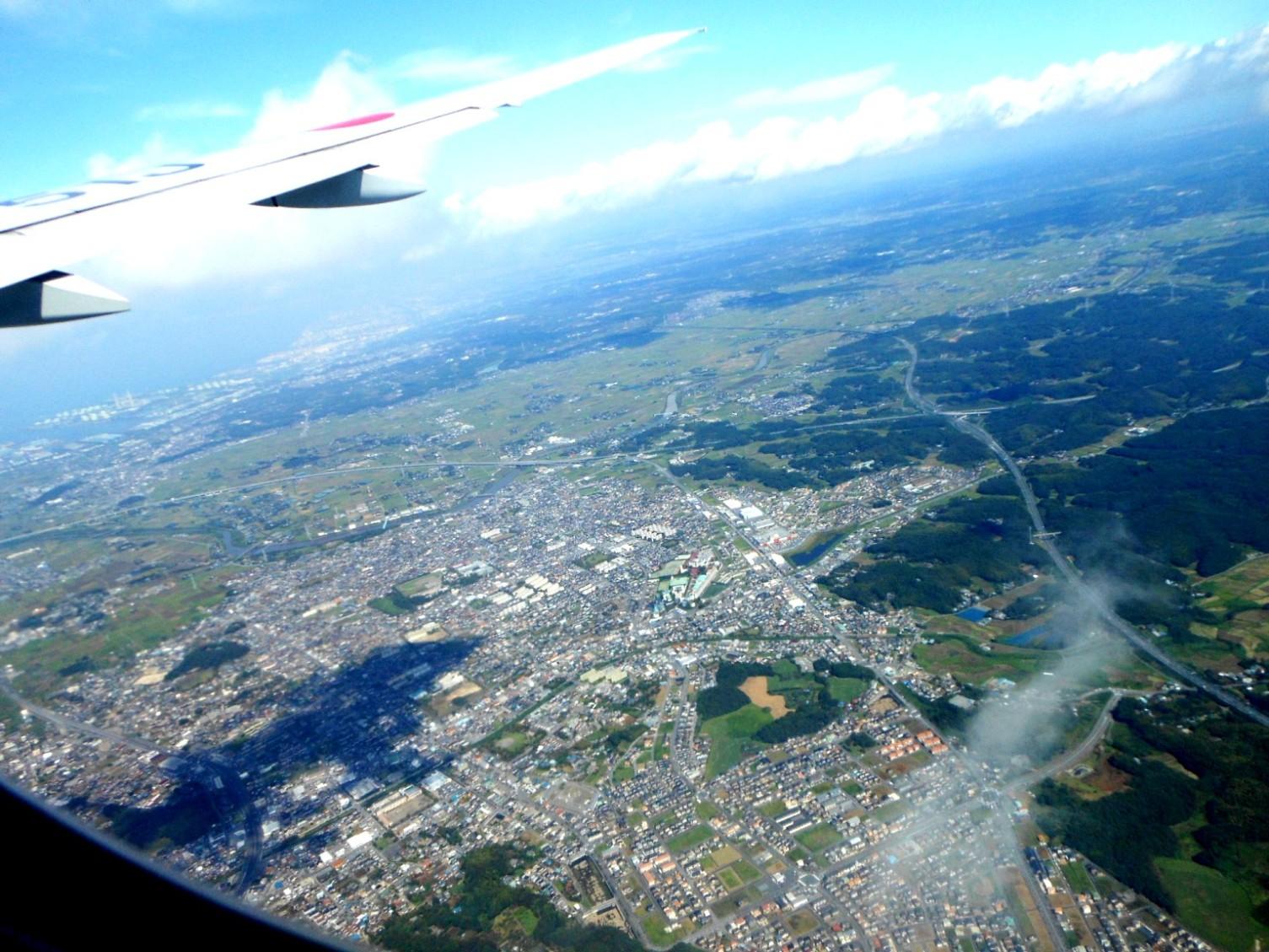 1823) ①「金沢3泊4日旅行 『飛行機からの眺め』」_f0126829_912692.jpg