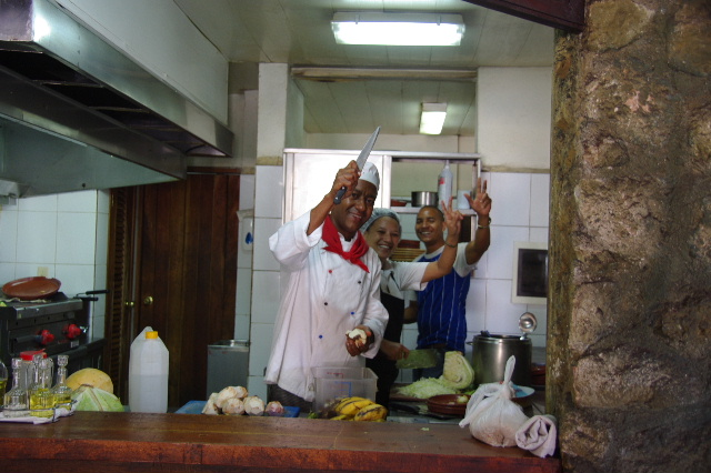 キューバ (71) レストラン El Barracon で休憩。そして空港へ_c0011649_11569.jpg