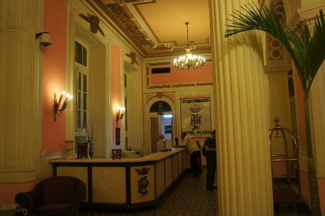 キューバ (75) ハバナのホテル・プラザ Hotel Plaza_c0011649_23443497.jpg