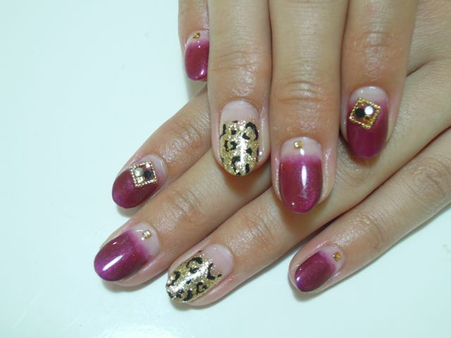 Wine Red Nail_a0239065_19364948.jpg