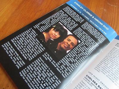 Hiromi Uehara &Stanley Clarke Duo @ Blue Note_b0209691_7391571.jpg