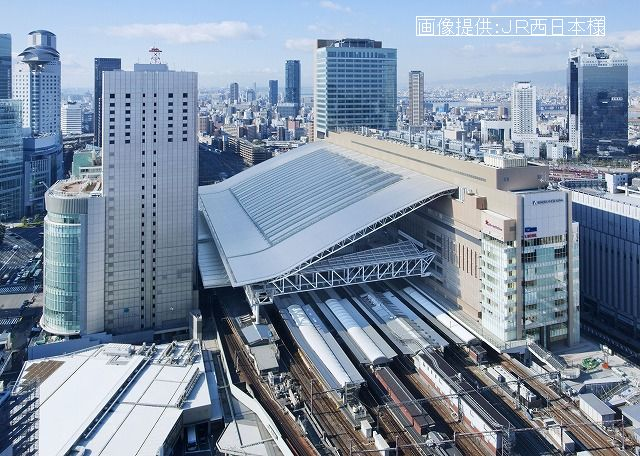 4か月ぶりに、無事、大阪駅へ~!ホッ~!_d0060693_1947134.jpg