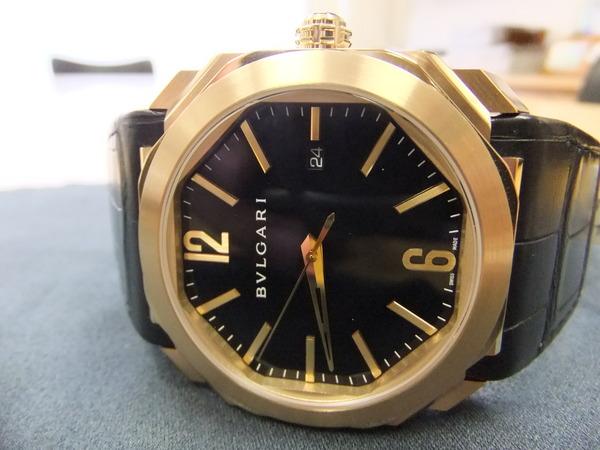 premium selection aca17 2e0b0 新着情報更新です。ブルガリ オクト ゴールドのモデルです ...