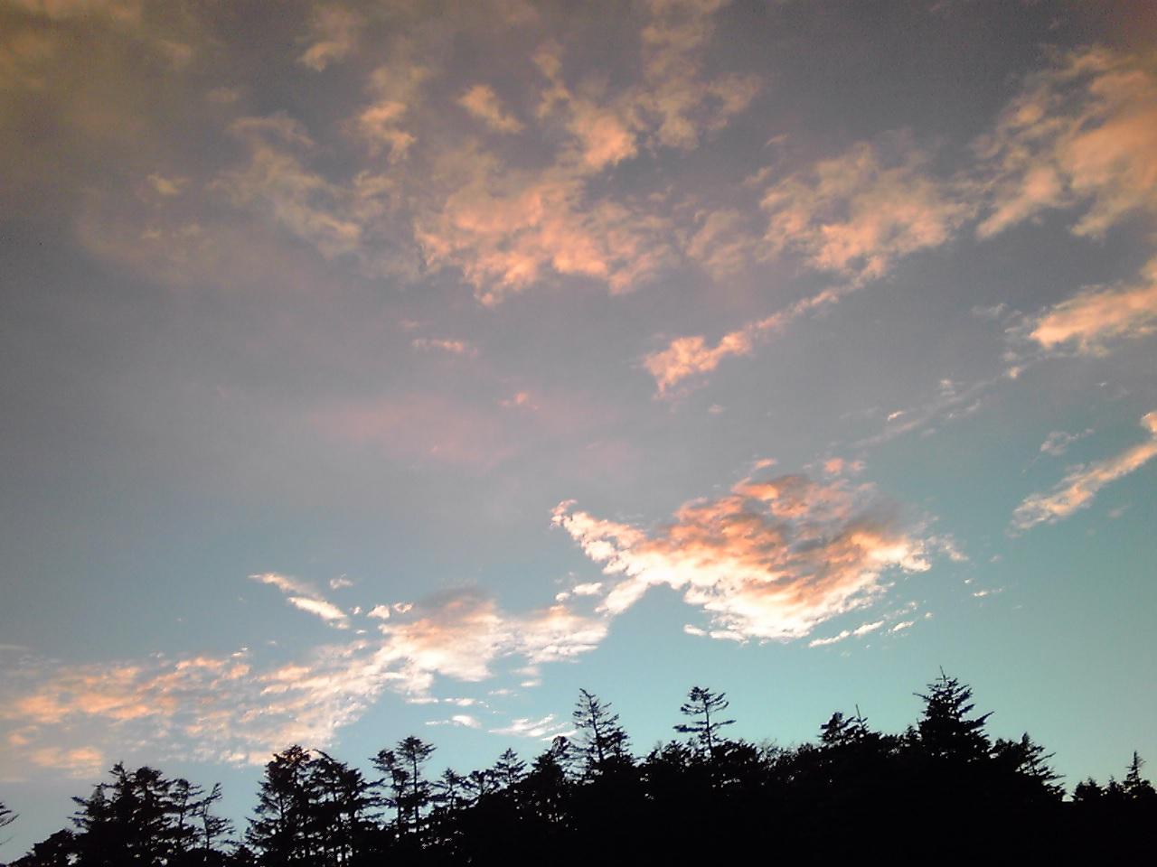 台風の前の朝焼け_e0155231_17481244.jpg