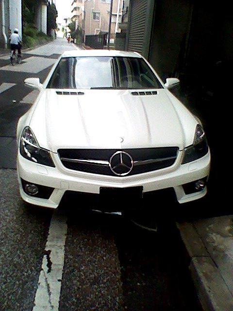 メルセデス ベンツ SL63 AMG パールホワイト_d0171835_14455622.jpg