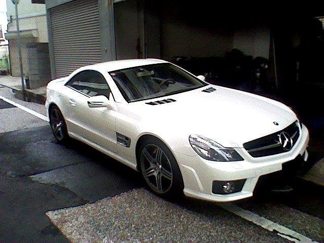 メルセデス ベンツ SL63 AMG パールホワイト_d0171835_14461389.jpg