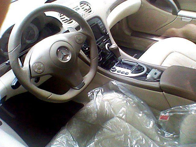 メルセデス ベンツ SL63 AMG パールホワイト_d0171835_14462613.jpg