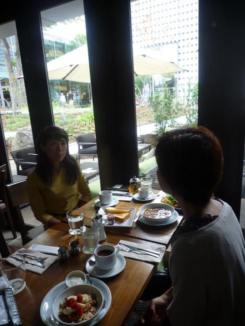アイビープレースで 朝食を。。。+熟成肉の中勢以@田園調布。。。♡。..。.゚。*・。♬♪*† _a0053662_15553069.jpg