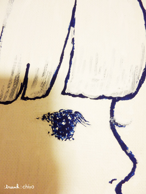 【制作途中】真夜中の女の子_f0223074_10482082.jpg
