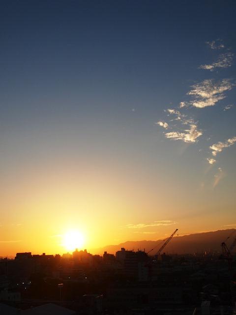 金曜日の夕焼けがすばらしかった!_e0167593_1168100.jpg