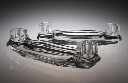 Baccarat Art Deco Candle Tray_c0108595_336107.jpg