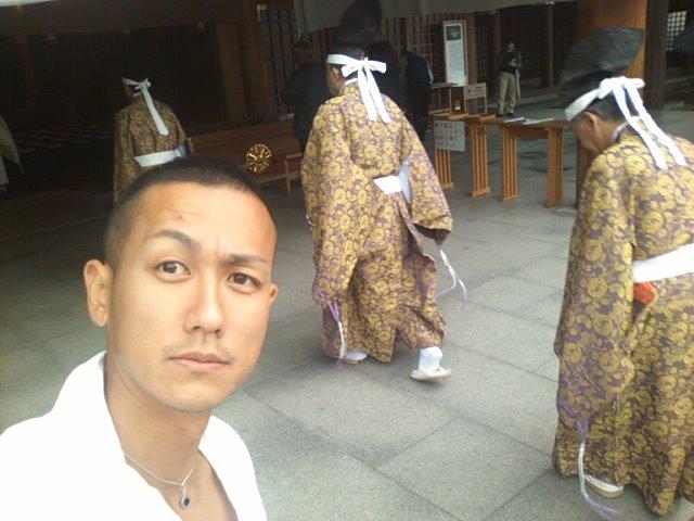月初恒例神宮参拝(^^)_b0127002_947473.jpg