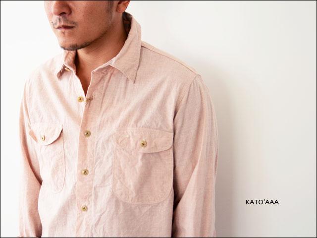 KATO\'AAA [カトートリプルエー] WORK SHIRTS/ワークシャツ [NS230173] MEN\'S_f0051306_19163760.jpg