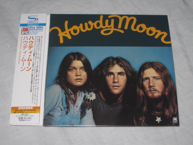 HOWDY MOON / HOWDY MOON (紙ジャケ)_b0042308_2304788.jpg