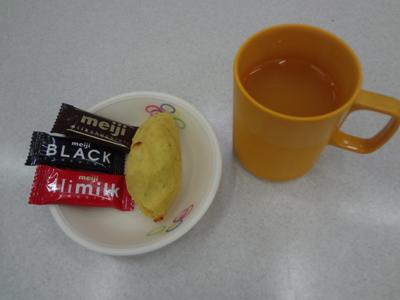 9/30喫茶でスイートポテト_a0154110_12565159.jpg