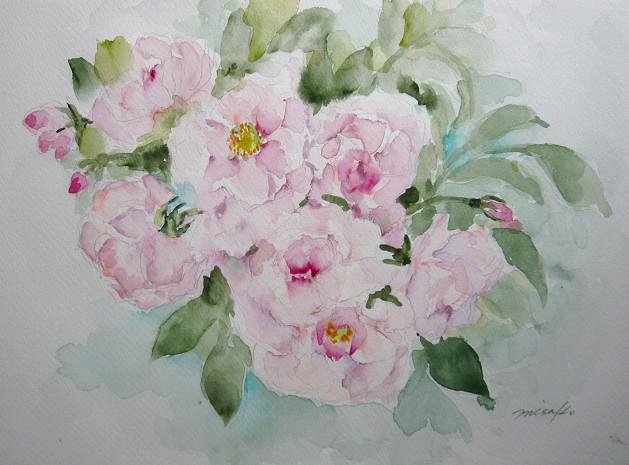 「水彩画Misako花のパレット」のMisakoさん登場!_c0039735_235829100.jpg