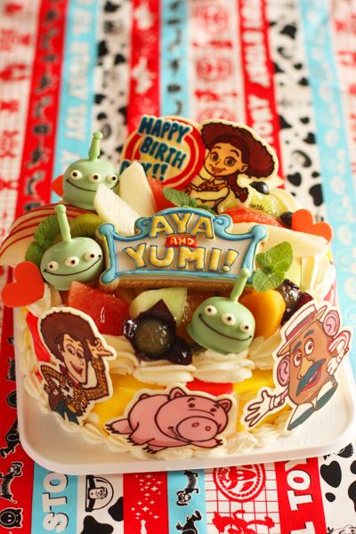 トイストーリーマニアのお誕生日ケーキ Coupe Feti