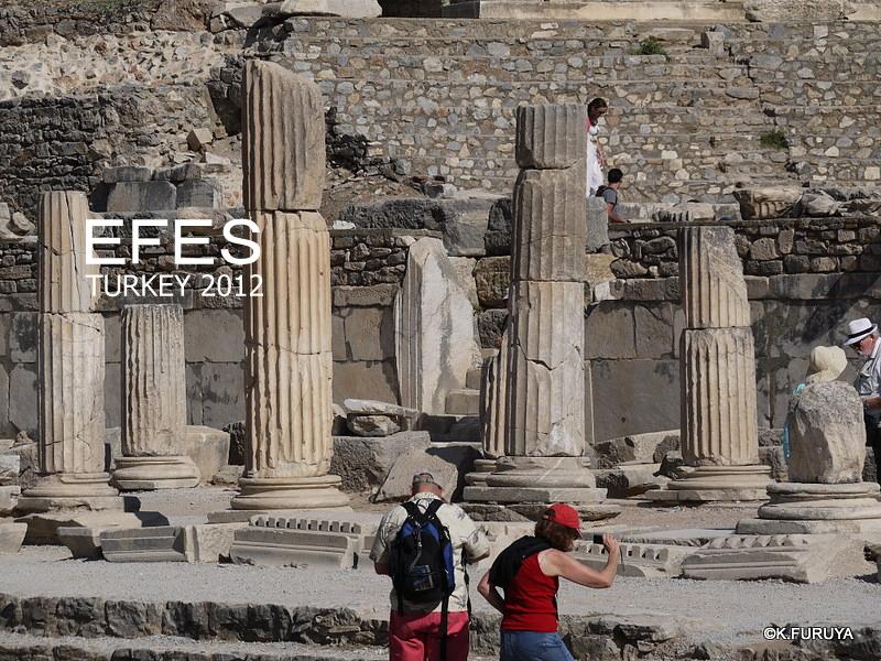 トルコ旅行記 4  古代遺跡 エフェス_a0092659_173403.jpg