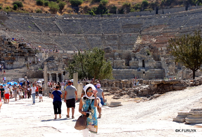 トルコ旅行記 4  古代遺跡 エフェス_a0092659_17541580.jpg