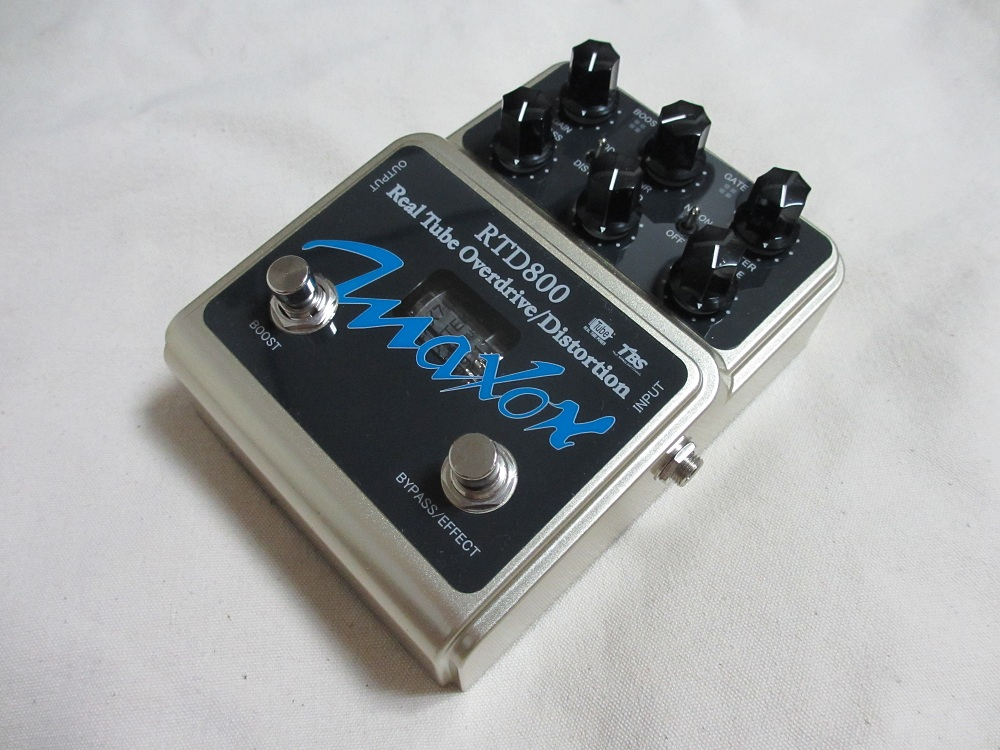 "MAXON""RTD800 Real Tube Overdrive/Distortion""_e0052576_0211166.jpg"