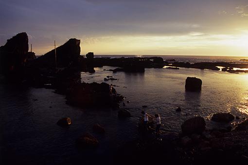 夕陽の海で終わる_b0259218_0154248.jpg