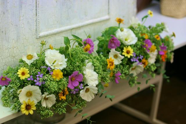 一会定期スクール9月 祭壇装花またはメインテーブル装花2_a0042928_18385859.jpg