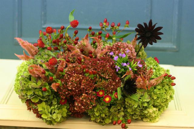一会定期スクール9月 祭壇装花またはメインテーブル装花2_a0042928_18411694.jpg