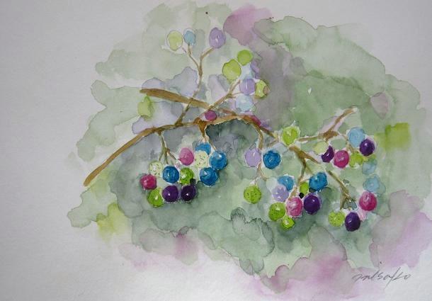「水彩画Misako花のパレット」のMisakoさん登場!_c0039735_002954.jpg