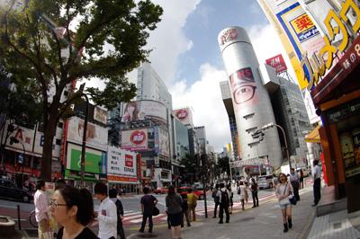 10月2日(火)今日の渋谷109前交差点_b0056983_13454312.jpg